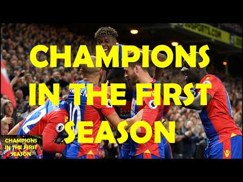 Won Premier League in First Season with Crystal Palace - 442 Counter Attack