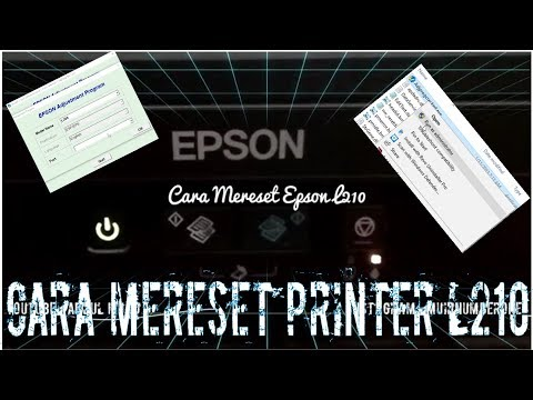How to Reset Epson L110, L210, L300, L350 & L355 - Solved Red Light Blinking Epson L Series1