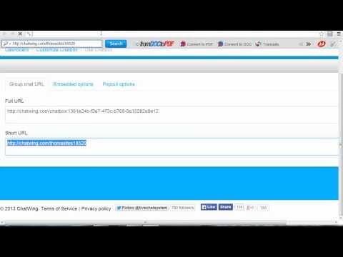Create Chat room php web development company