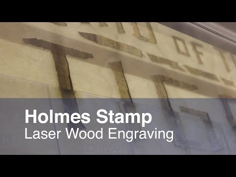 Project Of The Day : Laser Wood Engraving