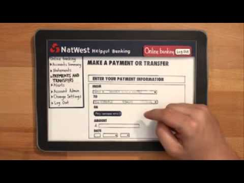 NatWest Online Banking  How to make a payment 2