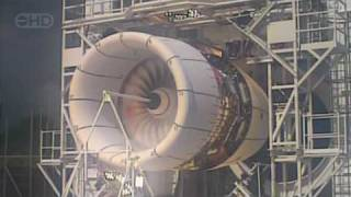 Airbus A380 Engine Explosion Test - HD