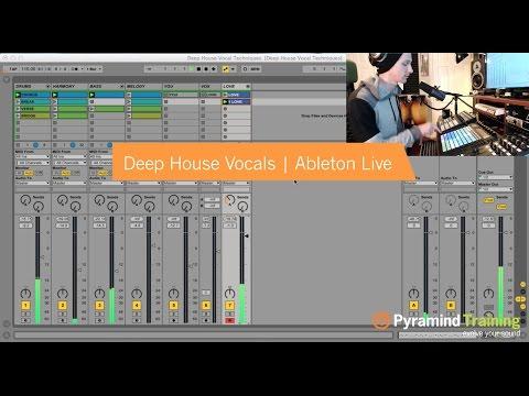 Ableton Live | Deep House Vocal Techniques | by Liam Shy