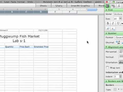 Macintosh Excel Demo