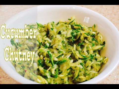 How To Make Cucumber Chutney (View in HD)