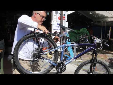 Rear Rack For Disc Brakes - How To Install - Bikesmart iRack Disc - BikemanforU