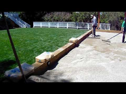 Bocce Ball Court Installation Los Angeles