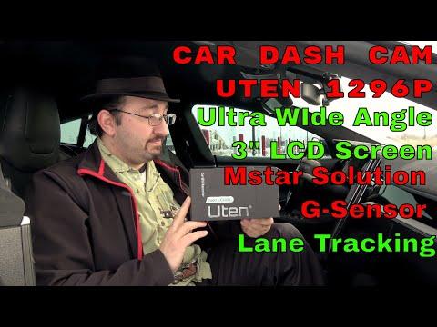 Uten Dash Cam Review   1296P+30FPS  Lane Monitoring