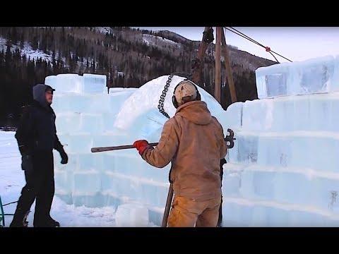 Building an Amazing Ice Castle