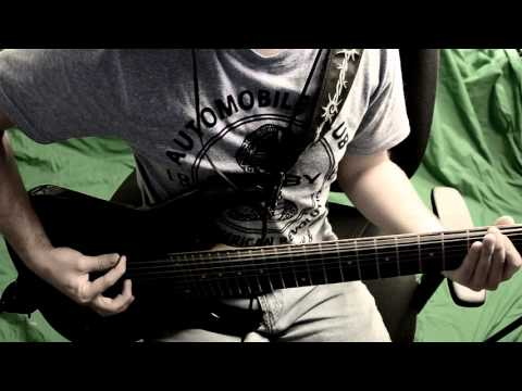 Riffing in Drop A Tuning - Fusion 6 String - Jericho Guitars