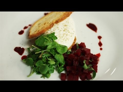 How To Make A Goats Cheese Mousse With Pickled Beetroot Salad: Simply Gourmet