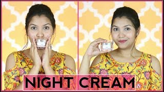 Get tight Youthful Younger looking skin with WOW ANTI-AGEING NIGHT CREAM/INDIANGIRLCHANNEL TRISHA