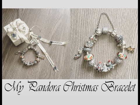 Pandora Christmas Bracelet and Holiday Outfit