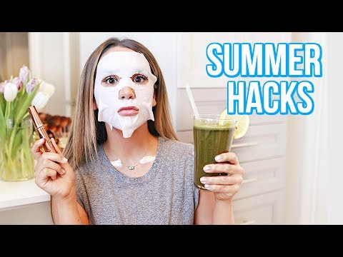 10 HACKS TO GLOW THIS SUMMER | ALEX GARZA