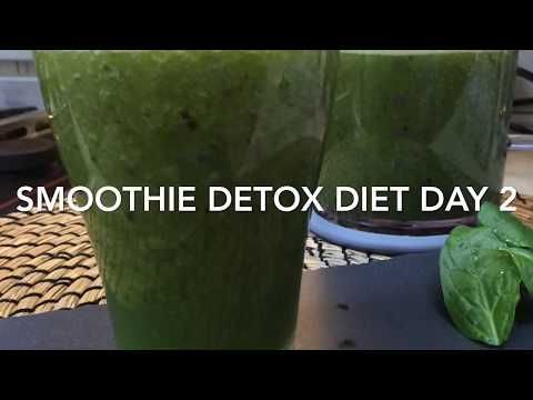 Day 2 Smoothie Detox Diet/ HOW TO LOOSE 2-3kg PLUS WEIGHT IN ONE WEEK