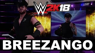 WWE 2K18 Breezango Entrance