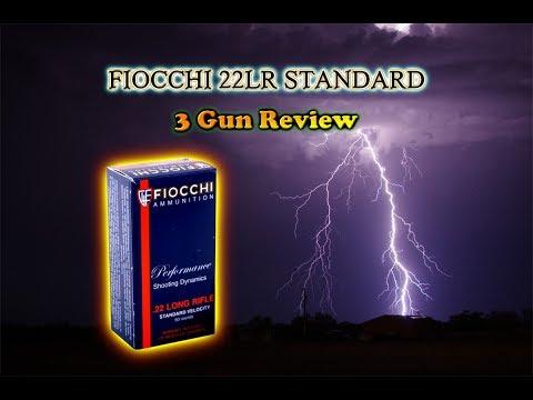 Review:  Fiocchi 22LR Standard Velocity