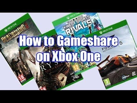 #XBox One GameShare Tutorial