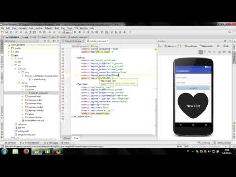 Develop simple Love Calculator in Android Studio