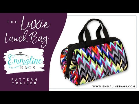 The Luxie Lunch Bag - A Sewing Pattern.