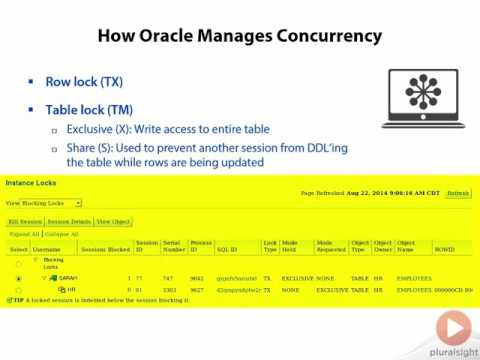 0606 How Oracle Manages Concurrency