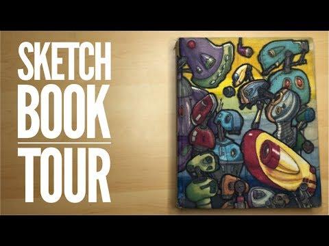 Sketchbook Tour with Quinton Batchelor