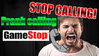 Prank calling gamestop! With soundboard!