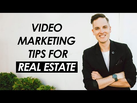 3 Video Marketing Tips for Real Estate Agents