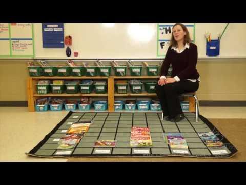 Creating a Classroom Library: Using the Hundreds Carpet to Organize Books (Virtual Tour)