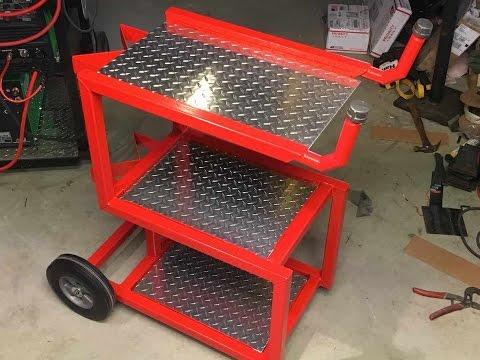 Welding Cart done, AHP Plasma Cutter, and PlasmaCam trial Run