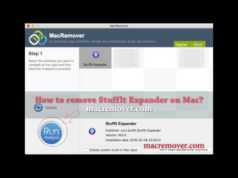 How to Remove Stufflt Expander on your macOS and Mac OS X?