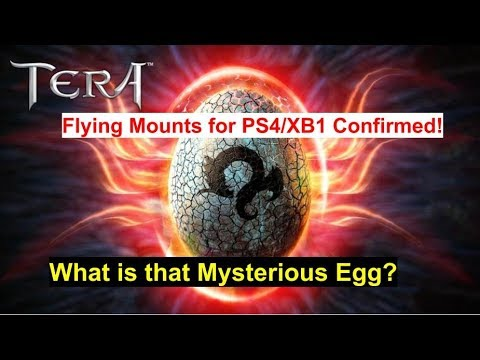TERA News: Flying Mount Date Confirmed for PS4/XB1 (Item Pass)