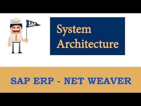 ERP SAP Basis - Net Weaver | SAP System Architecture (overview) |
