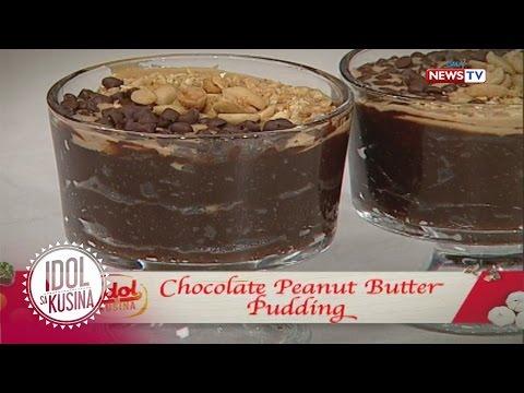 Idol sa Kusina: Chocolate Peanut Butter Pudding