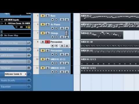 How To Import MIDI Files Into Cubase