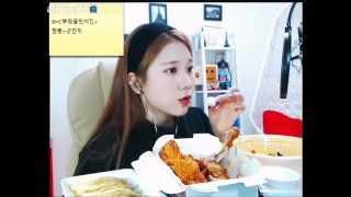 [BJ도진]먹방도중 별풍선이터지면..?