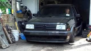 VW Golf Mk2 1 8T sound