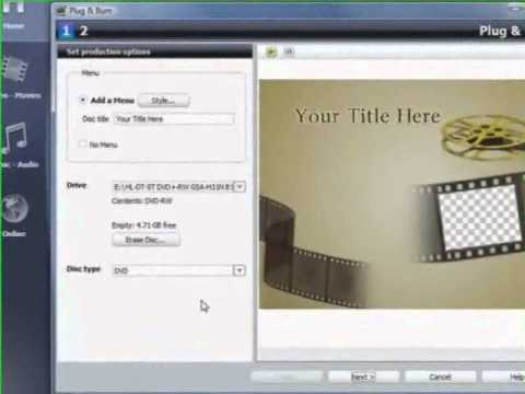 How to Use Roxio to Convert VHS tapes into DVDS video from Answers com Videos