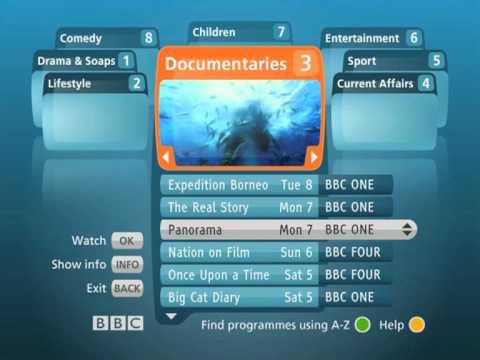 BBCi Catch up - Sky UK