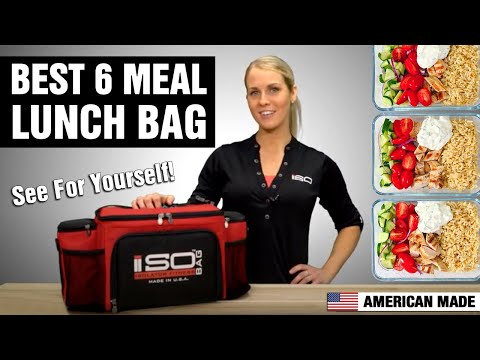 6 Meal Isobag Revers Color by Isolator Fitness