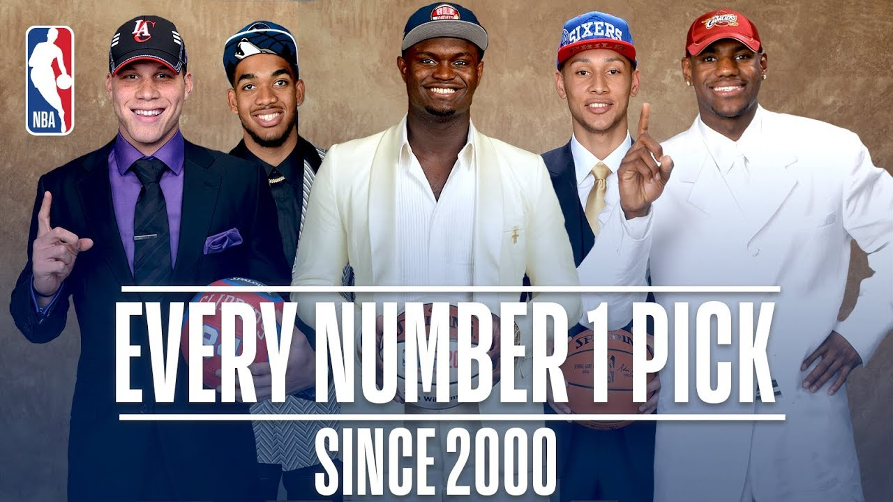 Every Number One Pick Since 2000!   From Kenyon Martin to Zion Williamson