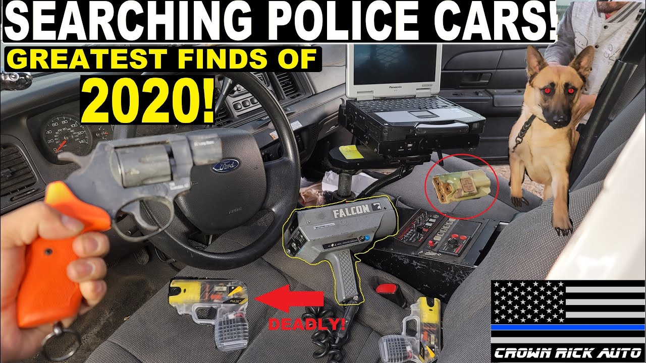 Searching Police Cars Greatest Finds of 2020! | Crown Rick Auto