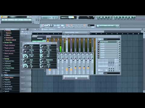 Fl Studio 11 - How to make a Dubstep Beat with 3xOsc [Bassline,Melody,Drums]