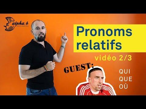 Xxx Mp4 French Grammar Leçon 2 3 Comment Utiliser Les Pronoms Relatifs Qui Que Où 3gp Sex