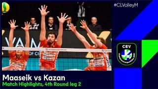 CLVolleyM Greenyard MAASEIK Vs Zenit KAZAN Match Highlights