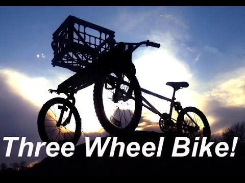 Homemade Off Road Three Wheel Bike - DIY Taking it to the Next Level!!