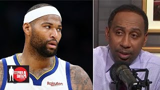 Stephen A. blasts Cousins to Knicks rumors: 'As if I wasn't sick enough!'   Stephen A. Smith Show