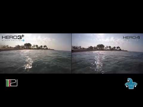 GoPro HERO 3+ Black Edition VS GoPro HERO 4 Silver | Video & Audio Comparison