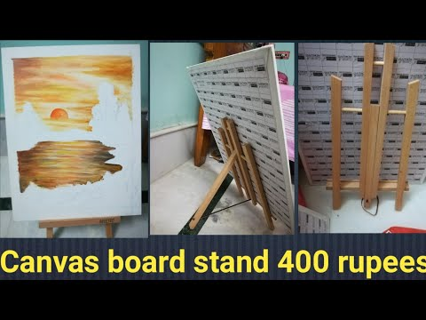 Canvas board stand for drawing under 400 rupees