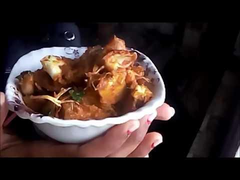 Raw Jack fruit stir fry | halasina kayi or gujje Sukka palya | Mangalorean side dish recipe